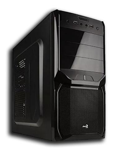 pc cpu computador core 2 duo + 500 hd + 4gb ram + win 7