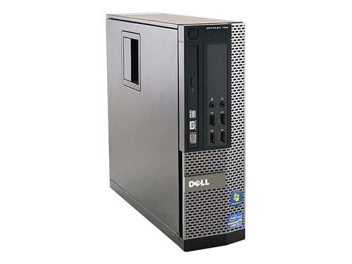 pc cpu dell i7 3.4ghz 8gb 500gb win10  wifi usb 3.0 vitrine