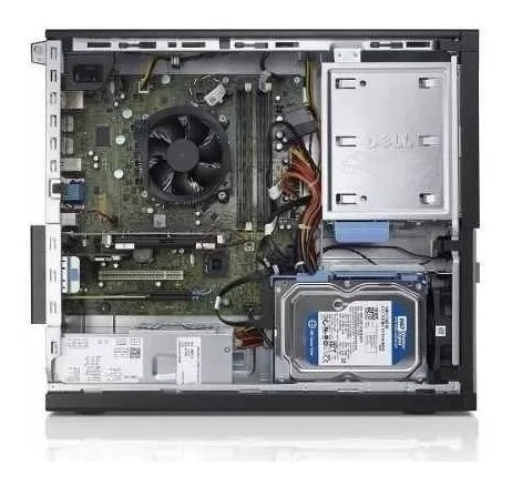 pc cpu dell optiplex core i3  4gb ddr3 ssd 240 gb wifi