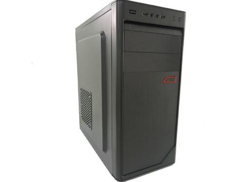 pc cpu dual core hd 500 memoria ram 4gb + wi-fi