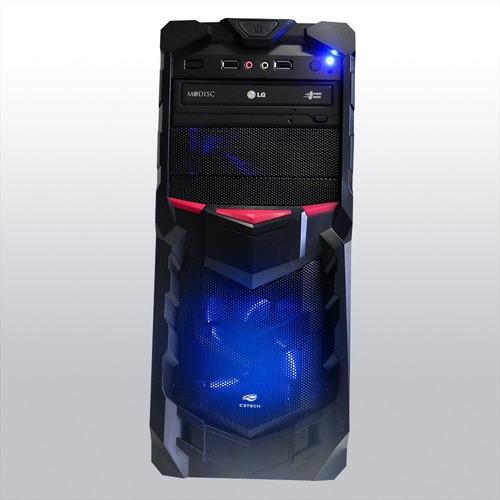 pc cpu gamer a4 7300 + kit gamer frete gratis! windows 10