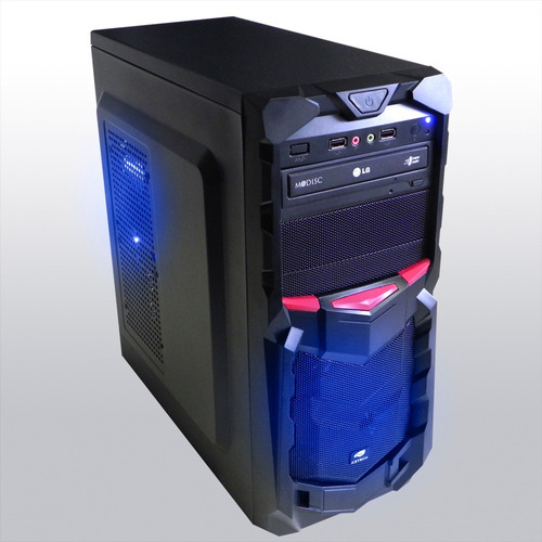 pc cpu gamer a4 7300 + kit gamer frete gratis! windows 10