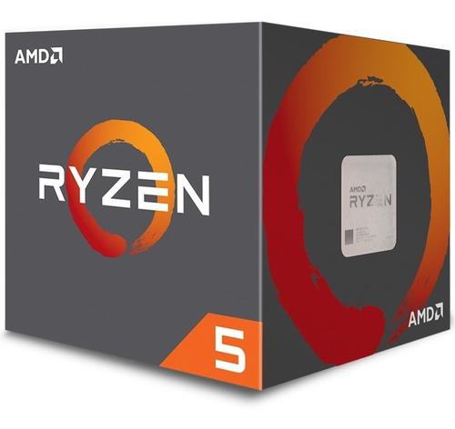 pc cpu gamer amd ryzen 5 2600 + 16gb + rx580 8gb + ssd m.2