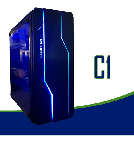 pc cpu gamer asus/core i7 9700f /16gb ddr4/ ssd/gtx1050 4gb