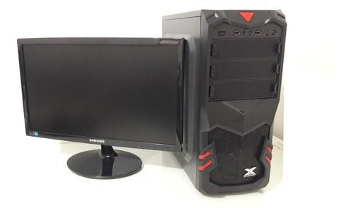 pc cpu gamer completa hd500 com placa de video 2gb barato