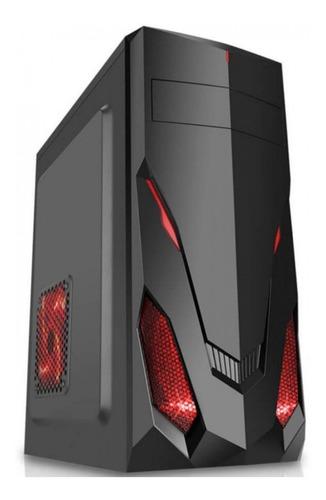 pc cpu gamer completo intel 500gb geforce monitor17 desconto
