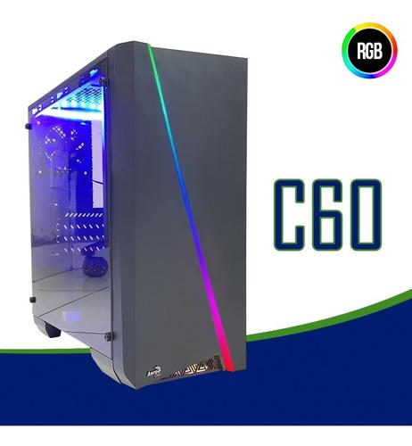 pc cpu gamer /core i5/ 16gb/ ssd / rx 580 / wifi/ led/ gab