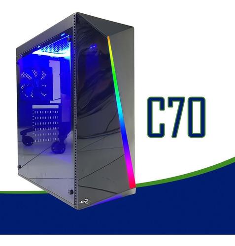 pc cpu gamer intel/ core i5/ 16gb/ 1tb/ geforce 2gb /ssd/led