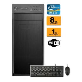 Pc Cpu Intel Core I5 3.1 Ghz 8gb 1tb Mouse E Teclado