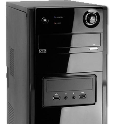 pc cpu pronta p/ uso celeron 2gb hd 160 wi-fi win7 oferta!