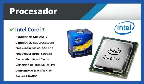 pc de escritorio - cpu i7 16gb ssd 480gb + wifi usb