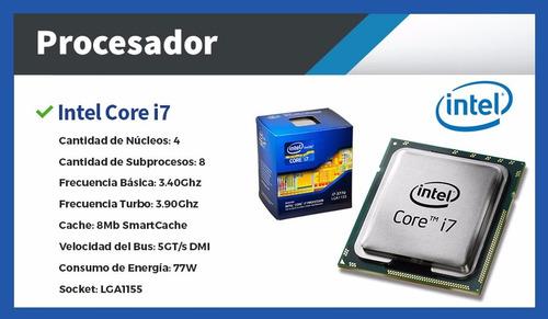 pc de escritorio - cpu i7 8gb 1tb