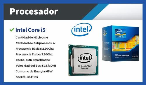pc de escritorio - i5 8gb 1tb o ssd + gt 1030 2gb
