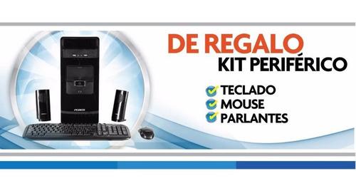 pc de escritorio - i5 8gb 1tb o ssd + gt 1030 2gb + mon 19