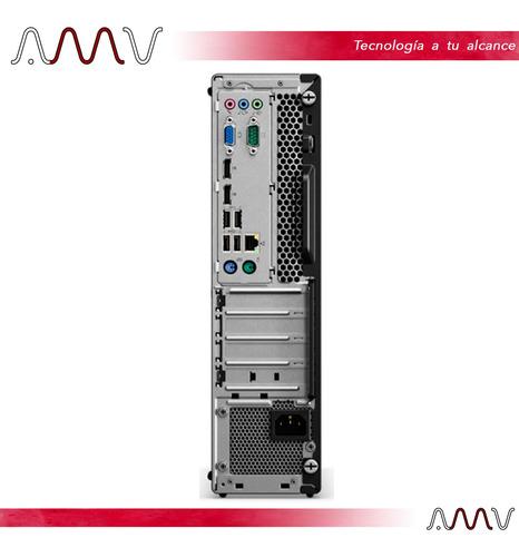 pc de escritorio lenovo m725 sff a6-9500 4gb 500gb amv