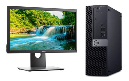 pc dell 7070 i7 ram 8gb hdd 1tb + monitor led 20'' p2018h