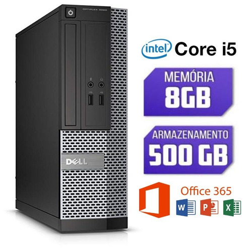 pc dell intel core i5 4° ger. 8gb hd 500gb o mais vendido