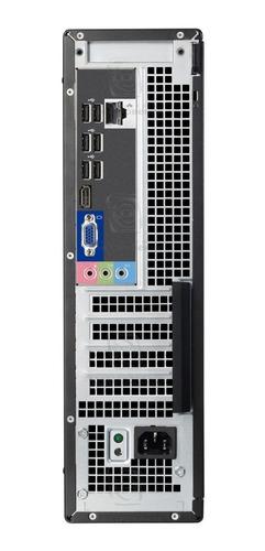 pc dell optiplex 3010 core i5 - 4 gb ram - hd 500 gb + wi-f
