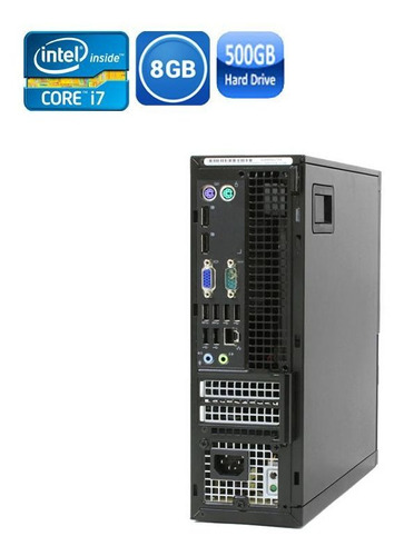 pc dell sff 9020 core i7 4° geração 8gb hd 500gb + wi-fi