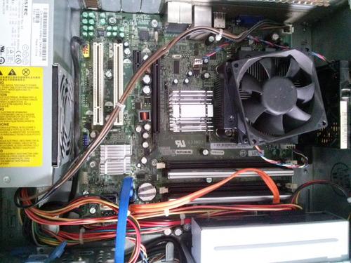 pc dell vostro intel computadora c2 duo sin disco sin memo