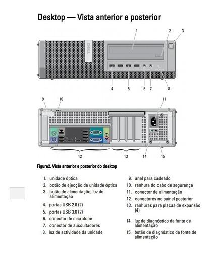pc desktop core i5 3.20ghz dvd dell 790 cpu sem ram e hd