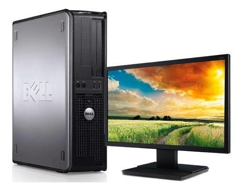 pc desktop dell optiplex 760 intel core2 duo computador