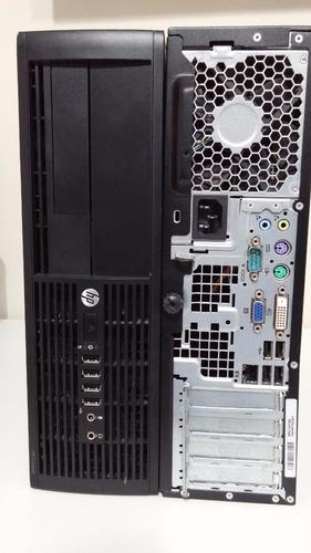 pc desktop hp 8000 pro hd 500gb 4gb ram serial 232