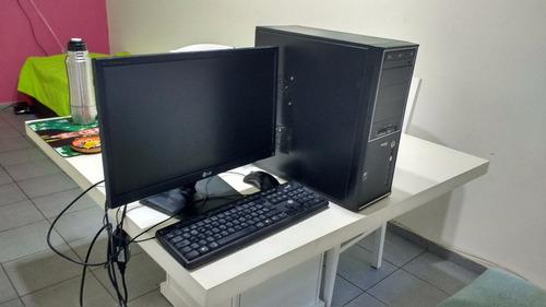 pc disco de 320 gb con monitor led 22