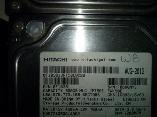 pc disco duro de 500 gb hitachi 7200 rpm