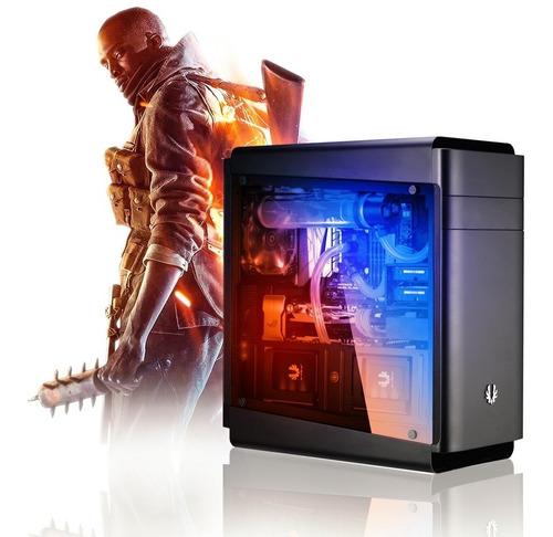 pc diseño gamer intel i7 8700k - 16gb - 1tb - z370 cuotas