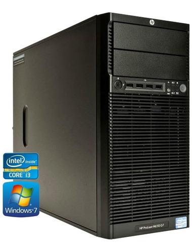 pc equipo servidor hp ml110 g6 intel core i3 4gb 250gb torre