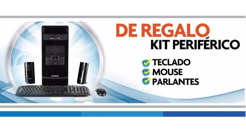 pc escritorio armada computadora i5 16gb 1tb o ssd - cuotas