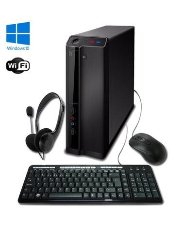 pc g-fire intel i3 7100 4gb 500gb win 10 original + wi-fi