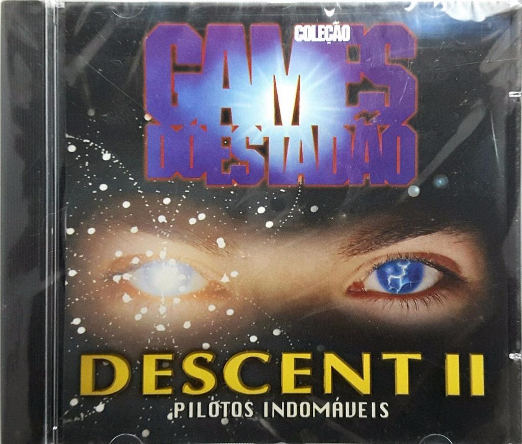 Pc Game Descent 2 Original Mídia Física Shooter Shoot Em Up