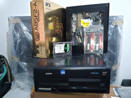 pc game  ecs quad-core amd-a 6800k fm2 4.2ghz turbo + memori