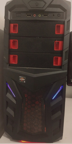 pc gamer 1060 6gb ryzen 1600 + ssd