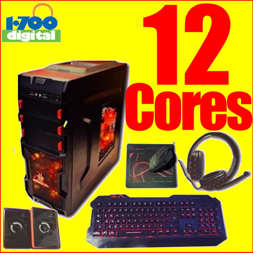 pc gamer 12 nucleos 8gb 1tb computadora cpu juegos core a10