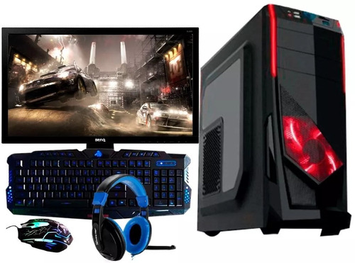 pc gamer amd 10 nucleos 8gb 1tb 20  radeon r7 + kit gamer