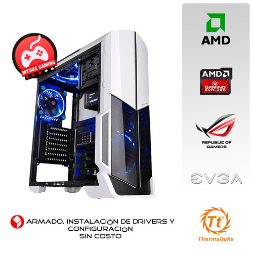pc gamer amd 880k quad core / video rx 470 4gb / ram 8gb