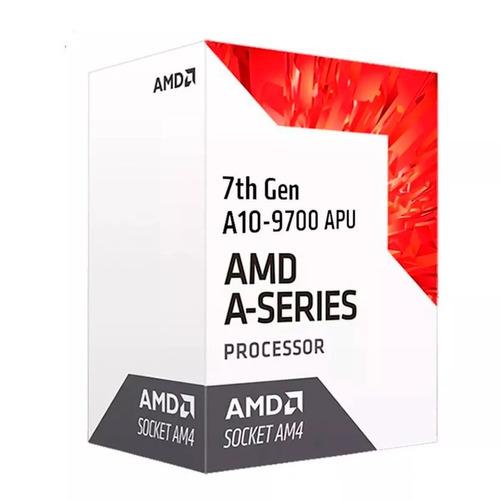 pc gamer amd a10 9700 radeon r7 4gb ddr4 500 gb
