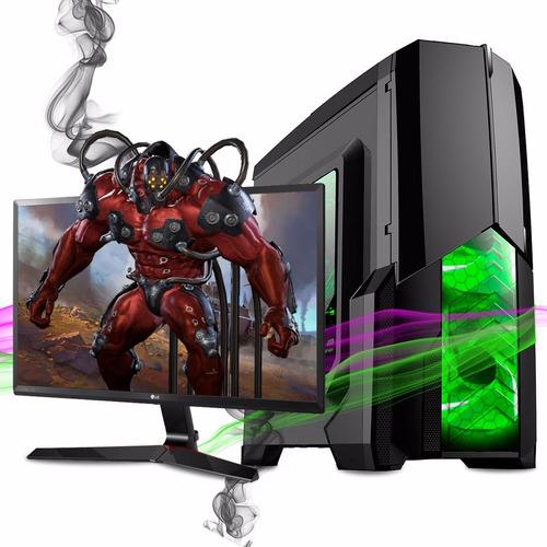 pc gamer amd apu a6 7400k 4gb 1tb ati radeon r5 hdmi 3.9 pc