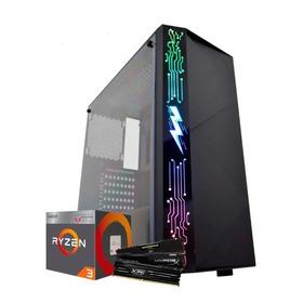 Pc Gamer Amd Ryzen 3 2200g 8gb Ssd Supera I3 I5
