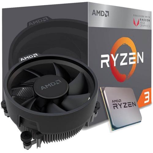 pc gamer amd ryzen 3 2200g vega graphics 8, 8gb ddr4 -oferta