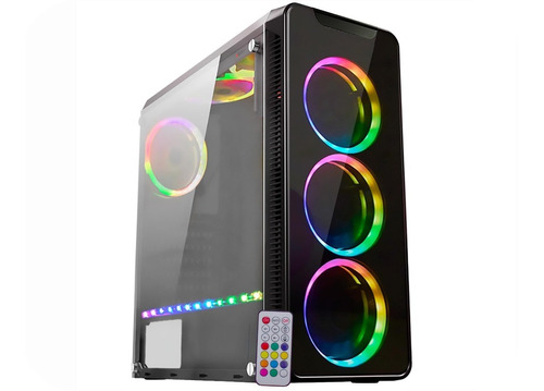 pc gamer amd ryzen 5 2400g vega graphics, 8gb ddr4, ssd240gb
