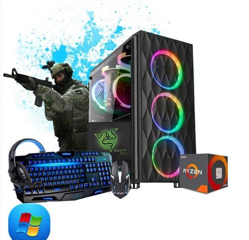 pc gamer amd ryzen r5 3400g kit gamer
