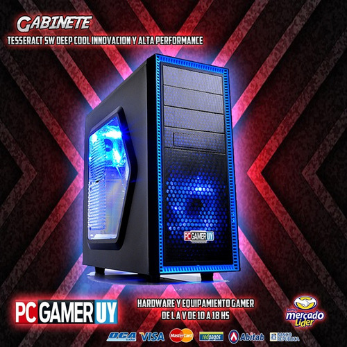 pc  gamer amd socket ryzen 3.5ghz 8gb 1tb radeon pcgamer-uy