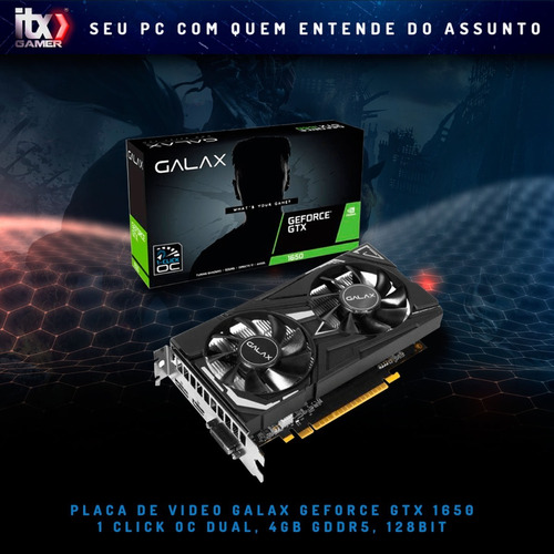 pc gamer arena owned i3 9100f (gtx1650 4gb) ssd 512gb, 8gb