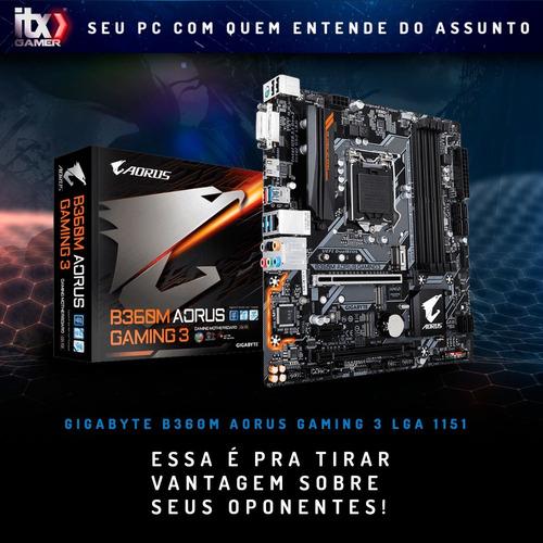 pc gamer arena ultimate intel core i5 9400f, gtx 1660ti, ssd 480g
