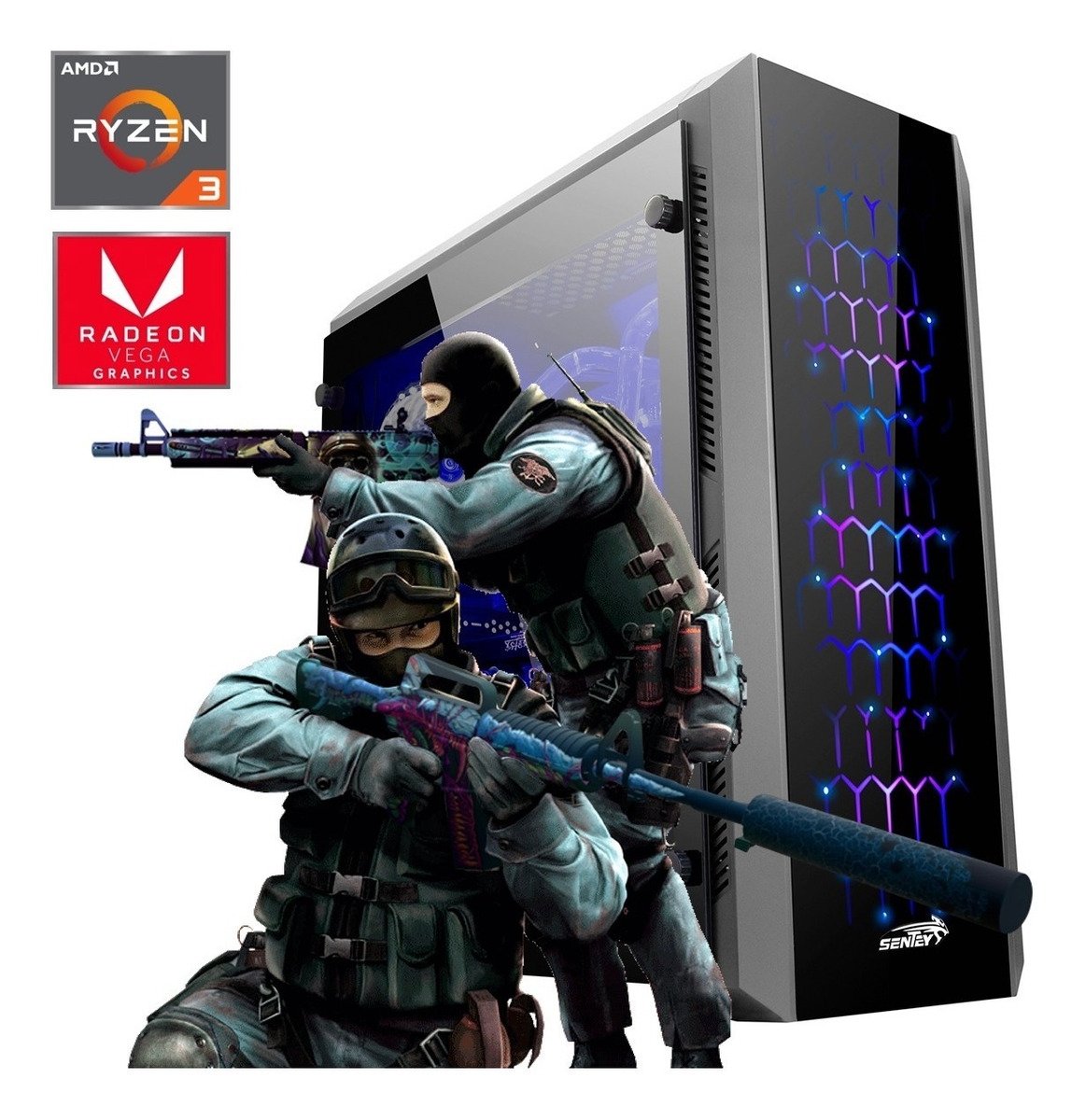 Pc Gamer Armada Amd Ryzen 3 Video Vega 8 Hdmi Fortnite Lol