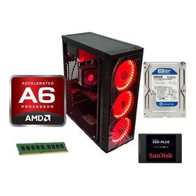 Pc Gamer Barato Amd A6 7480 8gb Ram Ssd 120 Radeon 2gb